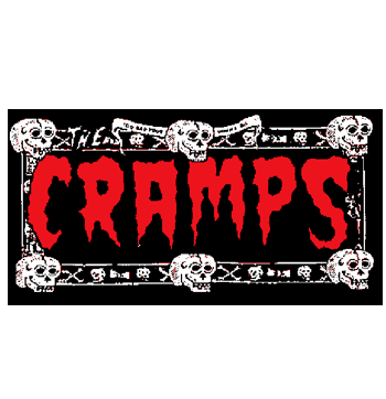 CRAMPS - Name - Back Patch